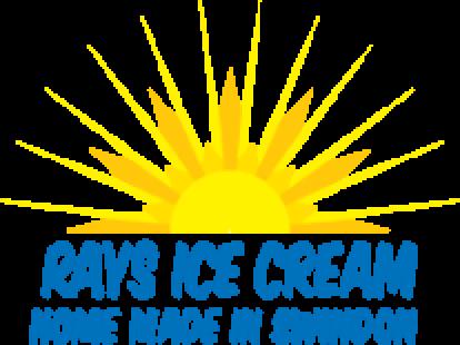 Rays ice cream logo