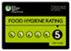 Rays Ice Cream Swindon's 5 star food hygiene rating
