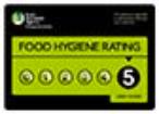 Rays Ice Cream Swindon's 5 star food hygiene rating